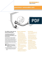 Data Sheet HPRA High Precision Removable Arm