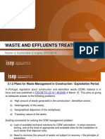 Waste ManagementPlans