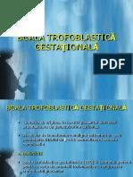 Boala Trofoblastica Gestationala in obstetrica