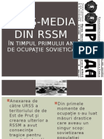 Mass-media Din RSSM