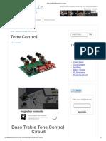 Tone Control _ Electronic Circuits