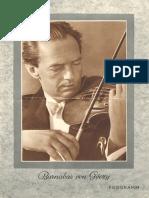 Barnabas Von Gézy Auf Electrola-Musikplatten - Programm