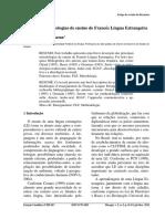 Principais Metodologias de Ensino de Francês Língua Estrangeira