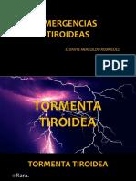 Medicina III - Emergencias Tiroideas