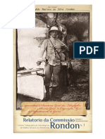 Relatório Da Comissão de Linhas Telegráficas e Estratégicas de MT Ao AM - Vol. 1
