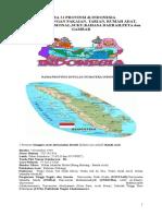 Nama 34 Provinsi Di Indonesia