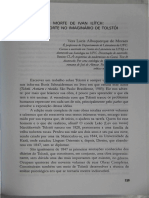 Acl Literatura Universal 17 a Morte de Ivan Ilitch Vera Lucia Albuquerque de Moraes