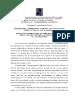 Estudo Dos Textos - Financiamento e Relação Publico Privado