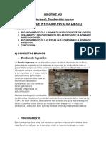 Informe de Motores Bomba de Inyeccion (1)