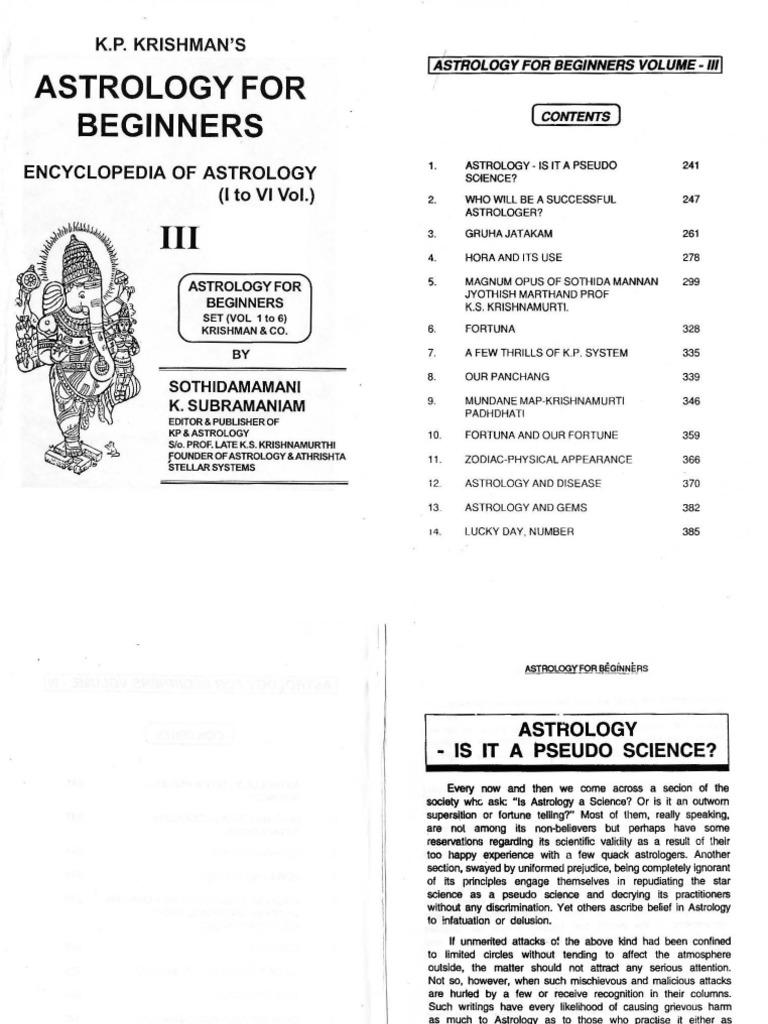 249033843 K P Krishman S Astrology For Beginners Encyclopedia Of Wiring Meaning In Telugu Vol Iii Planets