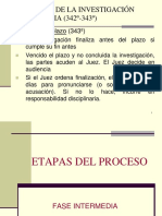 Fase Intermedia en el nuevo codigo procesal penal