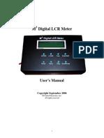 M3LCR Manual