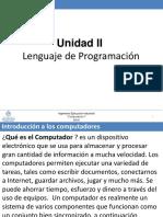 Computacion i 2016 Unidad 2a