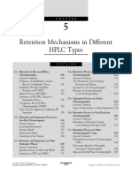 Chapter 5 Retention Mechanisms in Different HPLC Types 2013 Essentials in Modern HPLC Separations