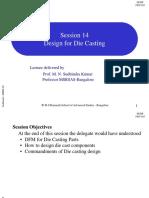 14 Design for Die Casting