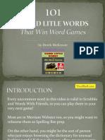 Wordbuff.com 101 Weird Little Words