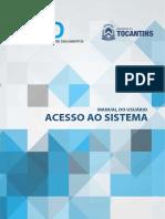 Manual Do SGD - Acesso Ao Sistema - Versão 2.0