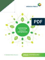 Annual Sustainability Report Angkasa Pura 2015