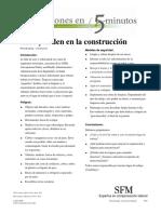 Orden y Aseo en La Construccion