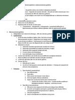 Resumo - Adenoma Gástrico e Adenocarcinomas Gástrico e Intestinal