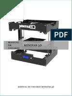 Manual Minifab 3Dvdv