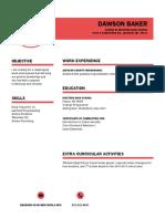 db resume