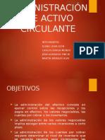 Administración Activo Circulante-1