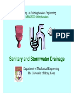 Sanitary and Stormwater Drainage