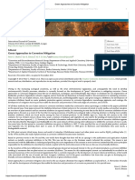 Green Approaches to Corrosion Mitigation