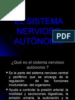 El Sistema Nervioso Autonomo