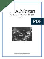 Mozart - Fantaisie Ré mineur PDF.pdf