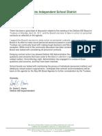 DeSoto ISD Superintendent David C. Harris on football coach controversy