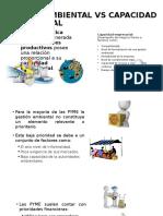 Impacto Ambiental vs Capacidad Empresarial