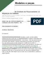 Ação Revisional de Contrato de Financiamento c_c Repetição do Indébito _ Modelos e peças JusBrasil.pdf