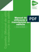 10 - Cypedoc. Manual de Utilização e Manutenção Do Edifício - Manual Do Usuário.pdf