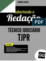 Demo Redação Para Técnico Judiciário Com Exercícios Tjpr