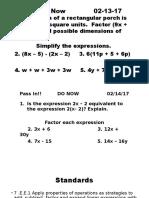 operation word problems feb 13th