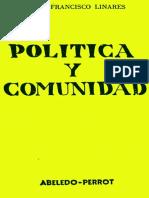 Politica y Comunidad