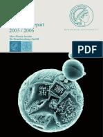 2005 2006 Scientific Report