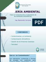 Clase 2 Contaminacion y Tratamiento de Las Emisiones Atmosfericas