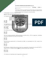Evaluación Formativa Matemática U2