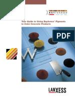 BayFerrox - Guide to Pigmenting Concrete 02