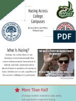 hazing across college campuses