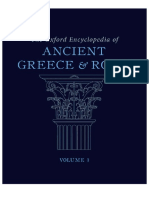 The Oxford Encyclopedia of Ancient Greece and Rome
