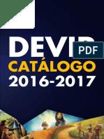 Catalogo Devir 2016 2017