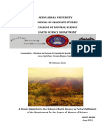 Geochemistry, Alteration and Genesis of Granodiorite Hosted Gold Mineralization in Okote Area, Guji Zone, Oromia Region, Southern Ethiopia