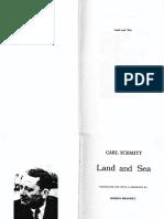 Carl Schmitt - Land and Sea