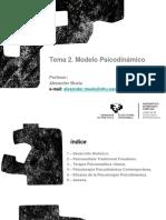 2. Modelo Psicodinámico