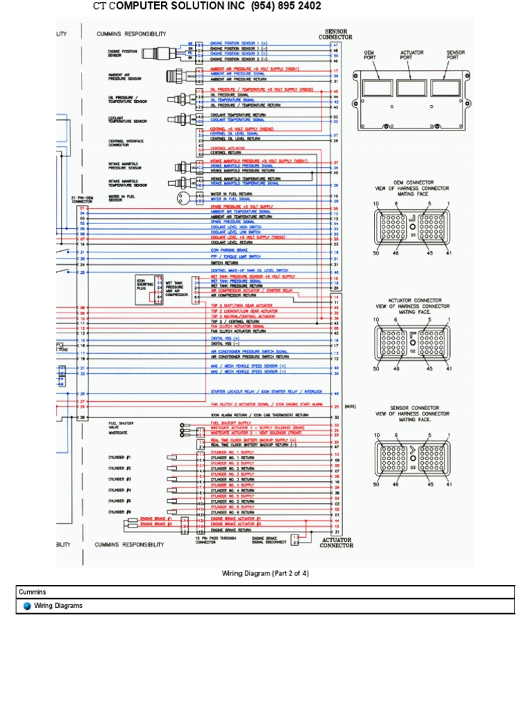 Ism Cummins Wiring Diagrams Pdf