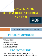 Project Presentation four wheel sterring